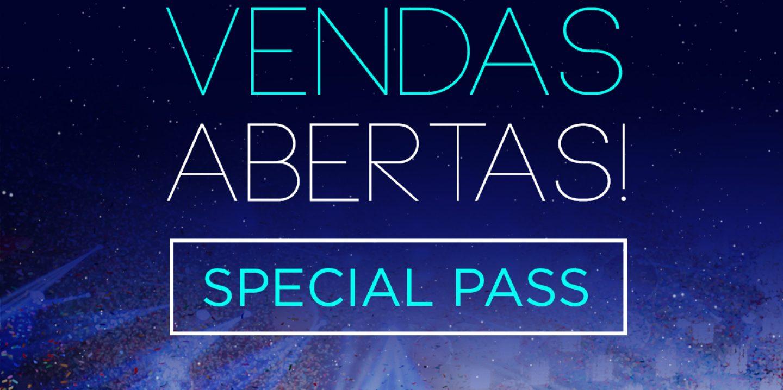 Vendas Abertas Special Pass